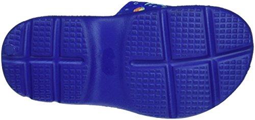 Fashy 7461 50, Ciabatte da spiaggia bambino Blu (Blau (Blau 50))