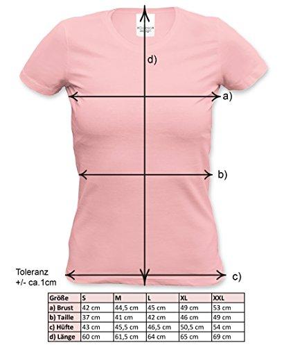 Muttertagsgeschenk T-Shirt für Frauen Beste Mama der Welt Geschenkidee zum Muttertag für die liebste Mutter Farbe: rosa Rosa