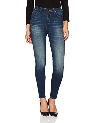 Lee Damen Skinny Jeans Scarlett High, Blau (Blue Indigo Hael), W25/L31