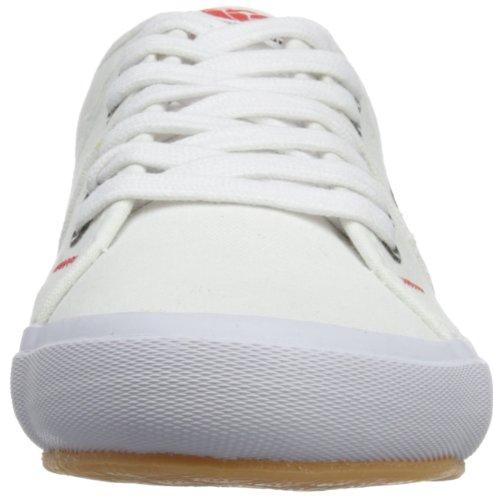 Canterbury Rotorua, Chaussures à lacets homme Blanc