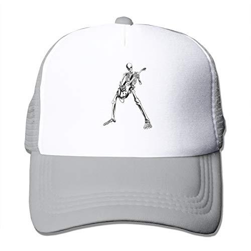 Osmykqe Halloween Party Cool Skul Einfache Logo Baseballmützen Hut für Männer & Frauen