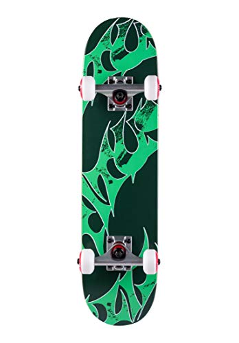 TITUS Skateboards-Complete Triple Schranz Micro Kids, Green, 6.5