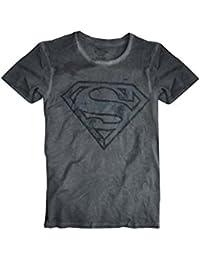 Mens officiel Superman Logo T-shirt imprimé Top Taille S, M, L, XL, XXL