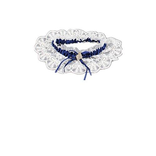 Trlyc Pearl e cristallo giarrettiera da sposa giarrettiera matrimonio di