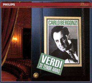 Carlo Bergonzi - VERDI : 31 Tenor Arias