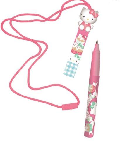 Hello Kitty Kugelschreiber mit Band Tea Party Stift (Party Tea Kitty Hello)