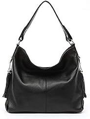 2019 New Fashion Soft Real Genuine Leather Tassel Women's Handbag Ladies Shoulder Tote Messenger Bag Satch