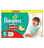Pampers Baby-Dry Hose Größe 5 Jumbo Box 64 Windeln