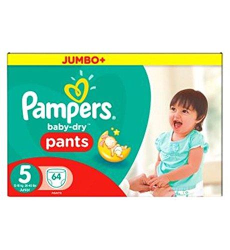 Preisvergleich Produktbild Pampers Baby-Dry Hose Größe 5 Jumbo Box 64 Windeln