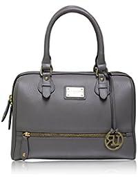 La Roma Women's Grey Handbag