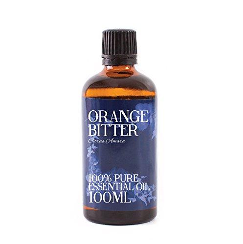 Aceite Esencial De Naranja Amarga - 100ml - 100% Puro