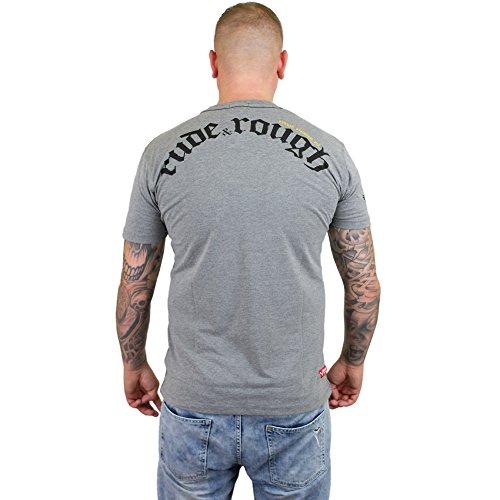 Yakuza Premium T-Shirt 2117 grau Grau