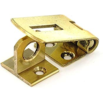 1 Pack Securit Brass hasp /& Staple 75mm Gold