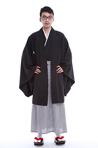 chen traditionellen Kimono Cosplay Kostüme (free size, GC96A-NI) (Traditionelle Japanische Kostüme)