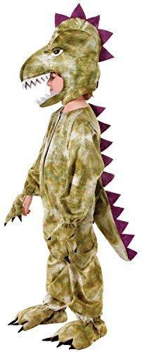 Jungen Dinosaurier Dragon Halloween Büchertag Tier Overall Kostüm Kleid Outfit 3-9 jahre - Grün, 8-10 (Halloween Herren Kostüm Dinosaurier)