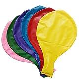 Baanuse 36 pollici decorazione gigante palloncini in lattice partito, 6pcs colori assortiti