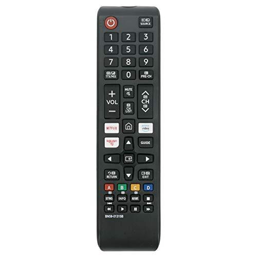 VINABTY BN59-01315B Ersatz Fernbedienung passend für Samsung mit Netflix Prime Video Rakuten TV Tasten