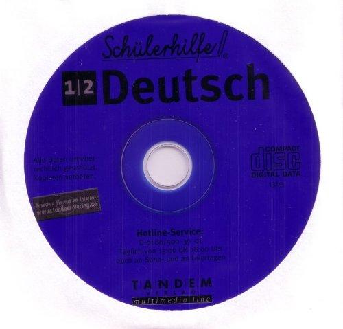 Schülerhilfe CD-Rom Deutsch 1. & 2. Klasse Lernsoftware Lernhilfe Lernen