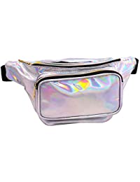 Geestock Holographic Fanny Pack for Women Men 0c9fa6ff35e6b
