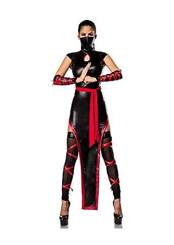 Hot Ninja Komplettset von Mask Paradise S (Hot Ninja Kostüm)
