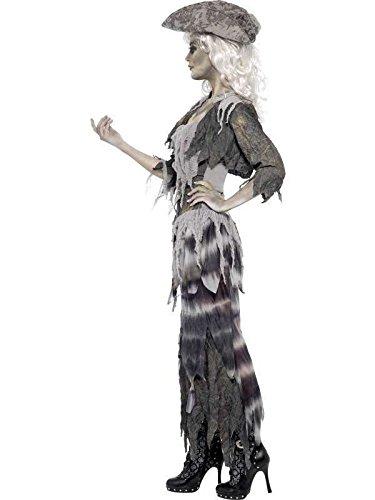 Halloween Lady Zombie Kostüme (zombie Lady Kostüm Pirat, s)