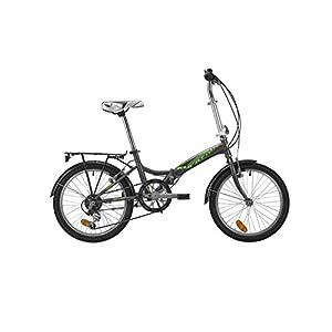 "41JT8VSKlWL. SS300 Atala Bici Bicicletta Green bay Shimano 6V Ruota 20"" RICHIUDIBILE Urban Style 2019"