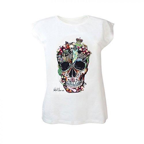 Glamexx24 Damen Classics T Shirt Oberteile Sommer Ladies Top Stretch kurzarm TS20170301 Mod.14431