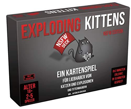 Exploding Kittens - NSFW Edition - Kartenspiel | DEUTSCH