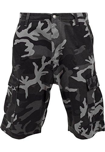 TB517 Camouflage Cargo Shorts Kuze Hose, Größe:38;Farbe:urban camo