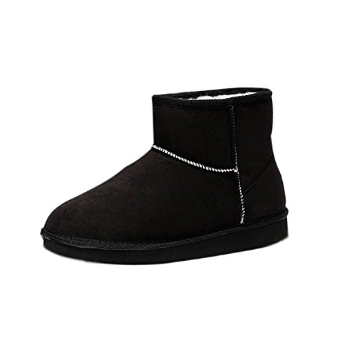 Minetom Femme Hiver Chaudes Bottines Classic Mini Chaud Chaussures Flats Snow Boots Footwear