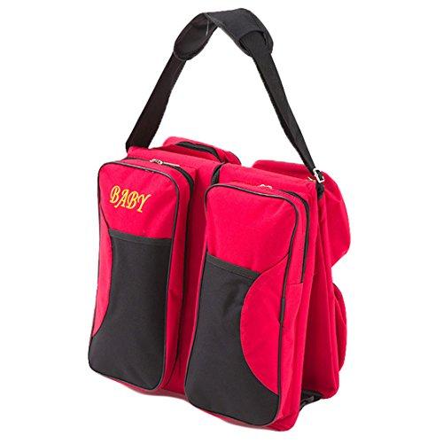 Bébé 3 en 1 portatif sac à langer station avec drap housse lit de voyage lit d59fe68af70