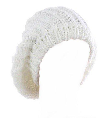 7X © Produit Original - Bonnet Oversize Fashion Wear - Coloris Blanc - Tendance Mixte Collection Automne-Hiver