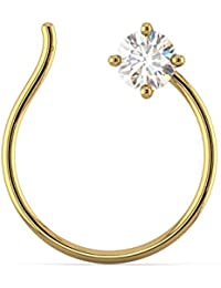 Joyalukkas Pride Diamond Collection 22k Yellow Gold and Diamond Nose Pin