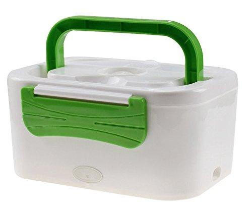 Tech Star - Recipiente para calentar comida, portátil, táper eléctrico, enchufe de encendedor de coche de 12 V