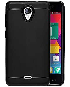 new concept 30412 0bc41 ECellStreet® Silicon Soft Back Cover Protective Case for Micromax Unite 2  A106 (Black)