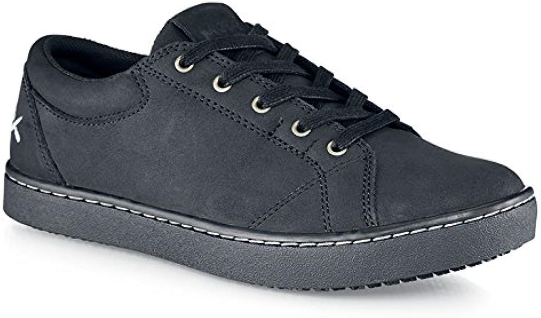 Zapatos para Crews m31174 – 35/2,5 Mozo Mavi de las mujeres antideslizante zapatillas, 2,5 UK, negro