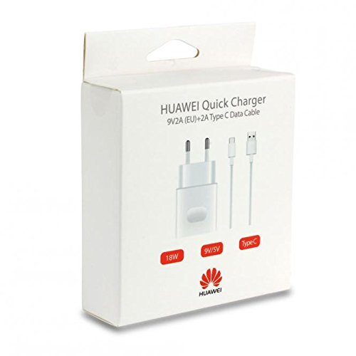 Huawei Chargeur Officielle Rapide Quick Charge HW-059200 Huawei P8, P8 Lite, P smart, P9 lite, P10 Lite, Mate 7, Mate 8 BLISTER