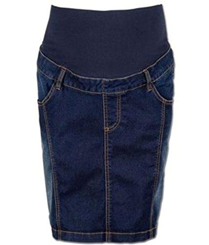 B & M Umstandsmode Umstandsrock Jeansrock Jeans (L)
