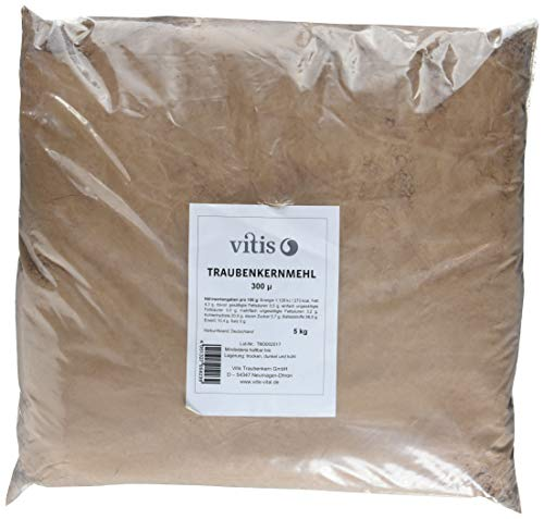 Vitis  Traubenkernmehl, 1er Pack (1 x 5 kg)