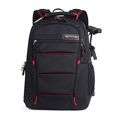LXYFC Kameratasche Einsätze für Rucksack - Wasserdichter Laptop-Rucksack für DSLR-Kameras - Stativhalterung, großer professioneller SLR-Fotorucksack - für Canon, Nikon, Sony, Fujifilm, Red -