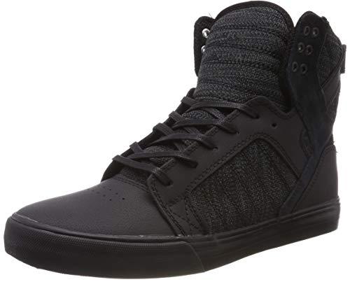 Supra Unisex-Erwachsene Skytop Hohe Sneaker, Schwarz Dk Grey-Black 033, 46 EU (Skytop Supra Sneakers)