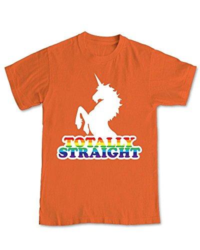 Shaw Tshirts Totally Straight Unicorn Humour T-Shirt