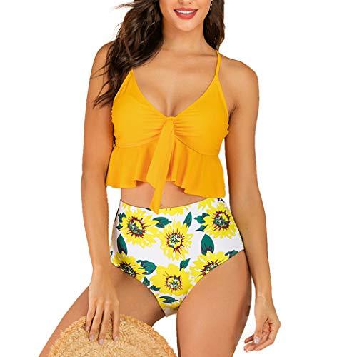 Badeanzüge Strand Badeanzug Sexy Beach Bikini Set Einfarbig Teens Mädchen Trägerlosen Bikinis Hohe Taille Gepolsterter Bh Beach Bikinis Frau Bikini Set Print swimsuit swimanzug swimwear