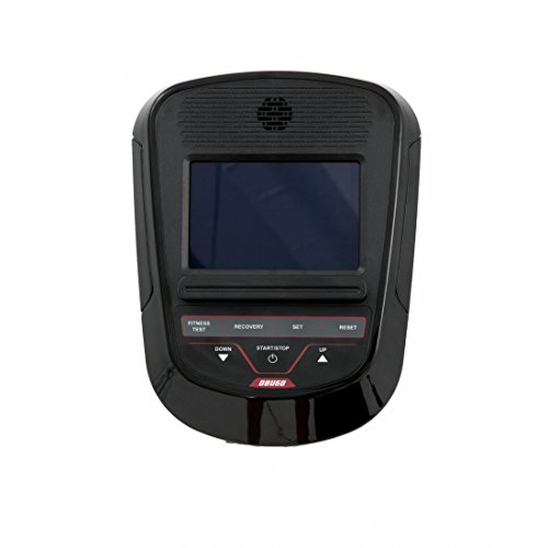 Spirit Upright Bike DBU 60 – Heimtrainer, Fitness Indoor Bike, Ergometer mit Hand-Puls-Sensoren - 8