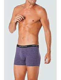 Punto Blanco - BOXERS Homme BASIX PUNTO BLANCO Haute sous-vêtements COTON - MORADO, 52/L