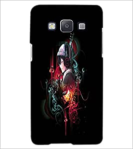 PrintDhaba Music D-4029 Back Case Cover for SAMSUNG GALAXY A5 (Multi-Coloured)