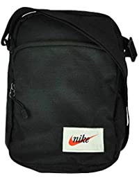 78adc2e2ba Nike NK Heritage Portable Bag Unisex Shoulder Messenger Bag Organizer Black