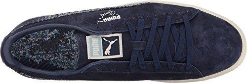 Puma Men s Clyde Marine FM Peacoat 8 D US