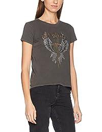 ONLY Women's Onlnew Dixie S/S Rebellion/Wings Box Ess T-Shirt