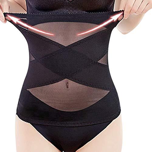 Kostüm Gestaltung Sound - Shapewear Damen Korsettgürtel Bauchgürtel Frauen Body Shaping Pants Control Slim Bauch Korsett Shapeware Körperformung (Schwarz,XXXL)